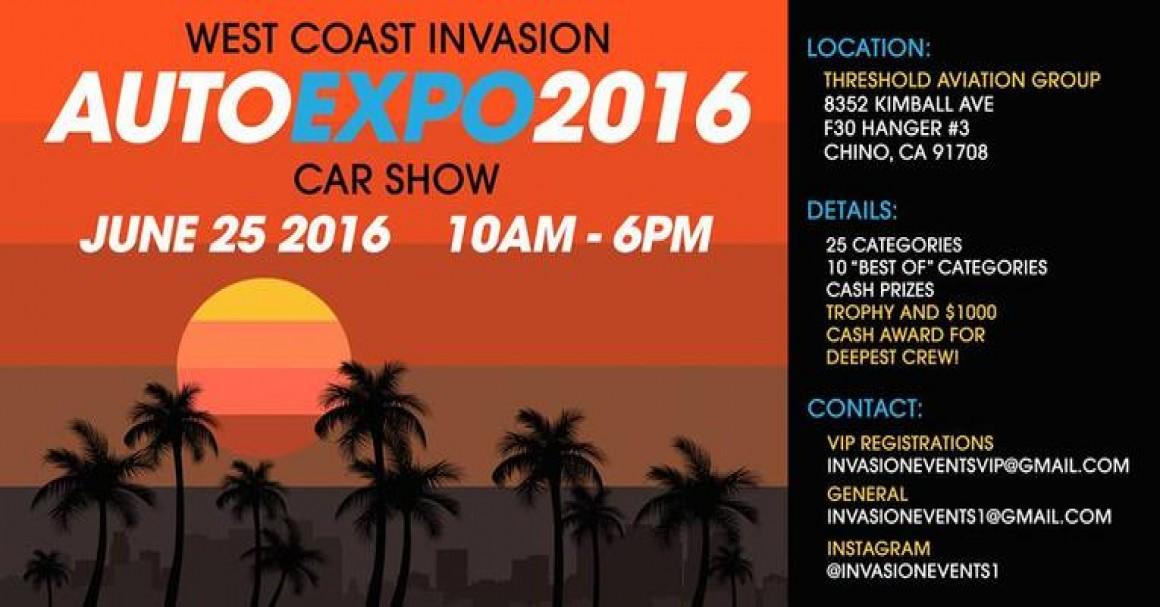 West Coast Invasion Auto Expo 2016