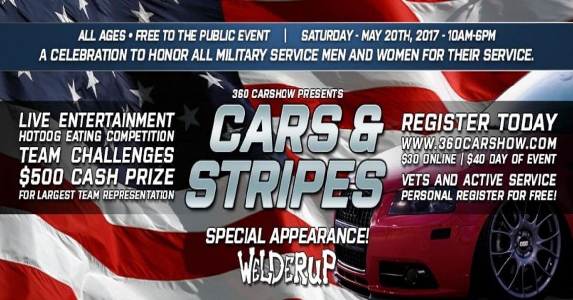 CARSHOW CARS STRIPES Tickets - Car show banners