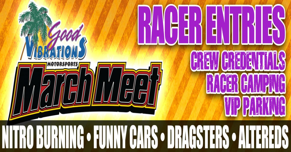 Auto Club Famoso Raceway 2018 March Meet Racer Entries tickets