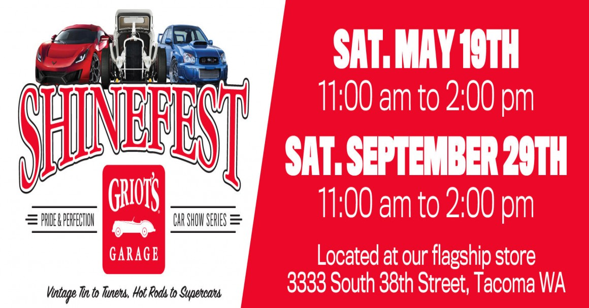 Griots Garage Flagship ShineFest May Th Tickets - Car show banners