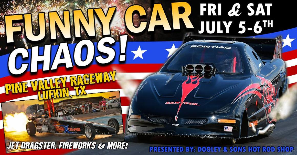Pine Valley Raceway Funny Car Chaos! at Pine Valley ...