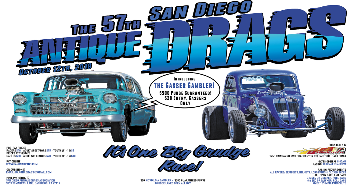San Diego Antique Drags