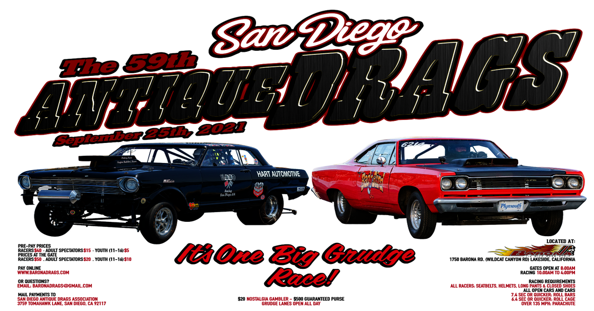 San Diego Antique Drags